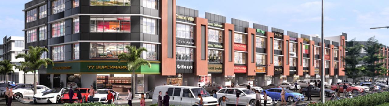 Enigma Square - A modern business hub