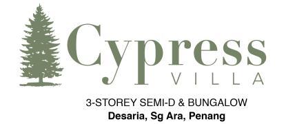 Cypress Villa (3 Storey Semi-D & Bungalow)