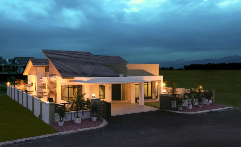 Aster single storey detached home new bungalow for sale for Modern single house design