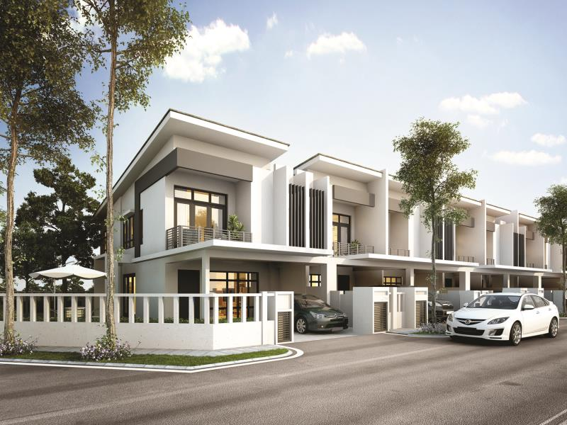 Garden heights phase 4 new 2 sty terrace link house for for Season 2 terrace house
