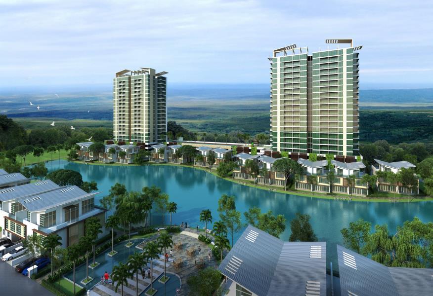 D'Lagoon Luxury Development by the Lake