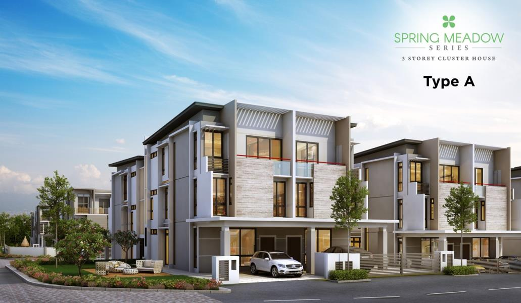 Spring Meadow 3 Storey Cluster House