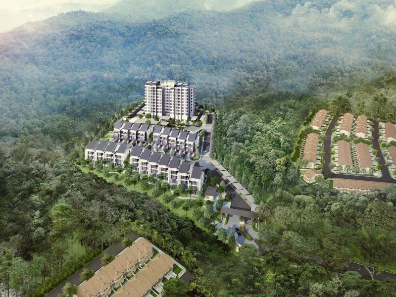Bukit Jelutong : Rimbun Sanctuary (Apartment)