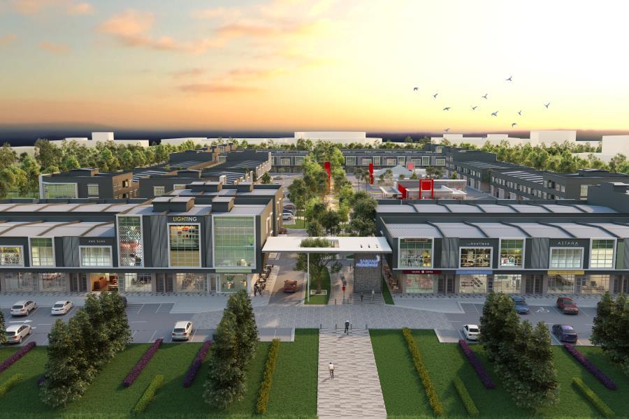 Bandar Universiti Pagoh : Sarjana Promenade