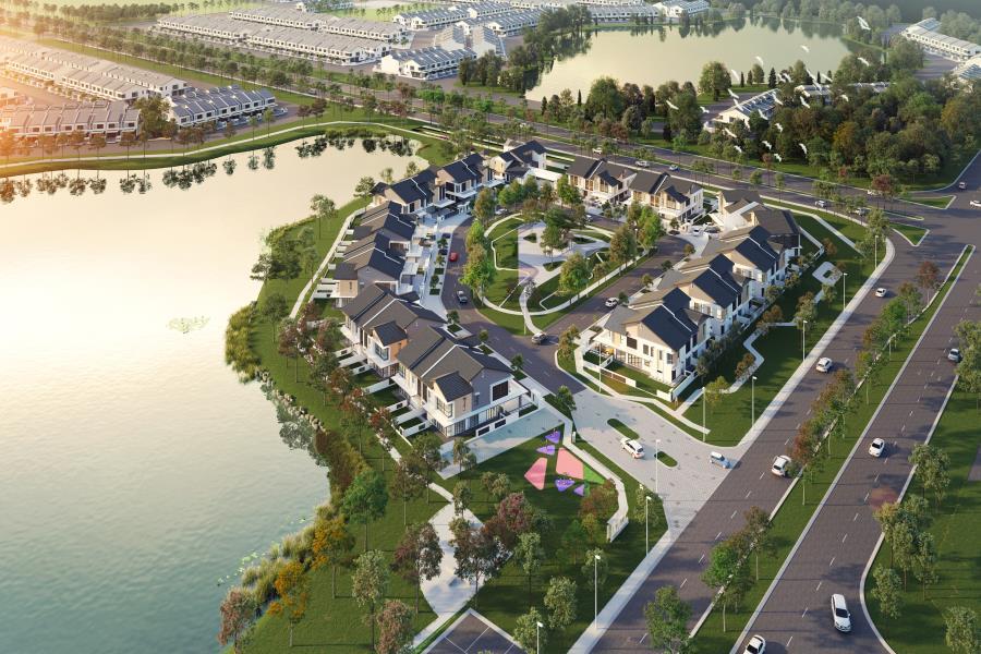 Bandar Bukit Raja : Laman Lakeside