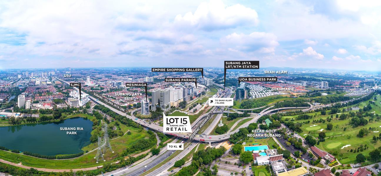 Subang Jaya City Centre (SJCC) : Lot 15 Retail