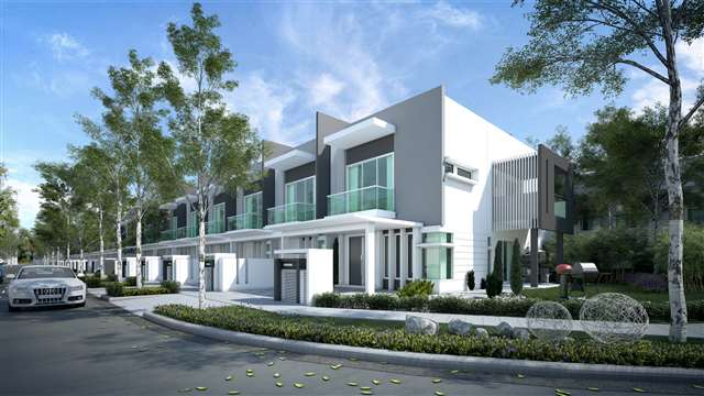 2 storey terrace garden homes new 2 sty terrace link house for sale in seri kembangan selangor - Connection between lifestyle home design ...